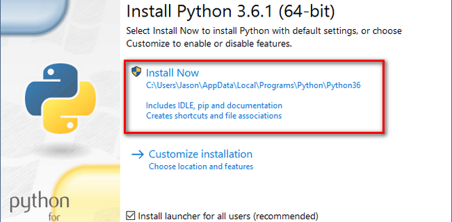 Как установить Python на Windows