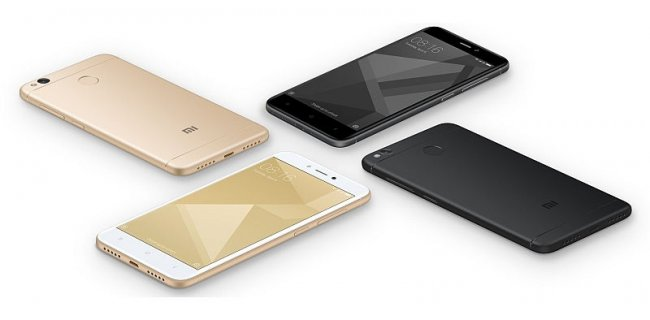 xiaomi redmi 4 gold black